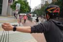 Lumos bike helmet adds Apple Watch gestures to control turn signals