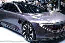拜腾的第二款产品是一辆预计在 2021 年发售的自驾电动轿车
