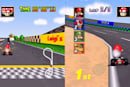 Teens playing Mario Kart 64: 'Who designed this?'