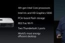 Mac Mini 終獲更新:新處理器、雙 Thunderbolt 2、802.11ac 還有價格小降