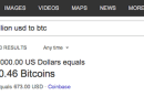 Bing now shows how much your Bitcoin is worth in other currencies