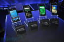 Samsung's American Galaxy S phones pose for family portrait