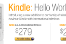 International Kindle ships October 19 to over 100 countries for $279, 'US' edition falls to $259
