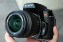 Sony Alpha 500 DSLR gets a hands-on