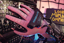 Hacked NES Power Glove controls a modular synth with finger wriggles
