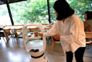 South Korean cafe uses robotic baristas to comply with social distancing