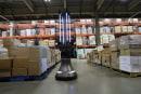 Autonomous robot uses UVC light to disinfect warehouses