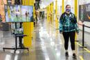 Amazon hopes AI will help enforce social distancing at its warehouses