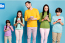 Customize your family's cellular plan with Tello