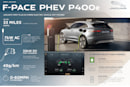 Jaguar's F-Pace refresh includes its first plug-in hybrid