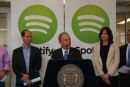 Spotify confirms plans for original content at press event with Mayor Bloomberg