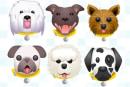 Dog emoji keyboard encourages you to adopt real pups