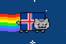 Iceland's crowdsourced constitution submitted for approval, Nyan Cat takes flight over Reykjavik