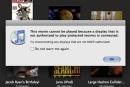 Apple iTunes content throwing HDCP flags on new MacBook / MacBook Pro