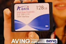 A-DATA exposes 128GB SSD to the camera