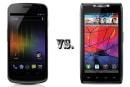 Samsung Galaxy Nexus vs. Droid RAZR by Motorola: the tale of the tape