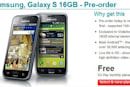 Samsung Galaxy S taking UK pre-orders, Vodafone promises June 15 delivery