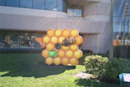 Visualized: Honeycomb statue sweetens up Google's campus