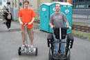 Clever students create cheapo DIY Segway