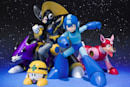 Mega Man's Bass and Treble in figure form this summer