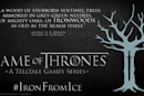 Telltale's Game of Thrones stars five playable family members