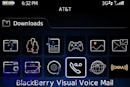 Visual Voicemail purportedly appears on BlackBerry Bold