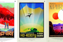 NASA made travel posters for real exoplanets, and they're superb