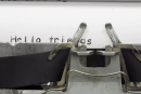 Love Comic Sans? Then this is the typewriter for you