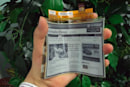 LG unveils flexible plastic e-paper display, aims for European launch next month