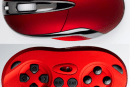 Shogun Bros. Chameleon X-1 mouse flaunts its hidden gamepad (update)