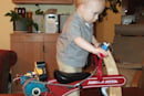 Powered Radio Flyer trike is envy of the playground