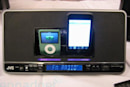 Hands-on with JVC's NXPN7 dual dock iPod alarm clock