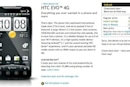 HTC EVO 4G sold out online once again