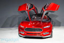 Ford Evos cloud-connected concept car unveiled at Frankfurt