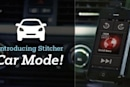 Stitcher Radio announces a Car Mode, but it's not quite what I want