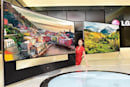 LG's 105-inch UHDTV isn't coming to CES alone: flat 65-, 79-, 84- and 98-inchers on the way
