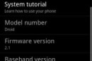 Stable Android 2.1 hacked onto Droid, speeds through those extra home screens