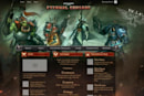 Eternal Crusade delivers sneak peek of new website and founder's program heroes