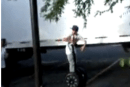 Justin Bieber attempts daring Segway escape from mob of screaming tweens