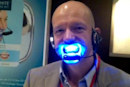 Forever White Headset plays music to your ears while bleaching your teeth