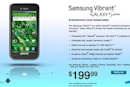 Samsung Vibrant is official on T-Mobile, coming July 21 for $200