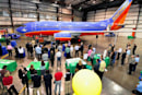 Southwest builds first 'green plane,' Ma Earth shows her gratitude