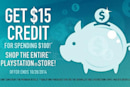 Spend $100 on PSN in October, get $15 back