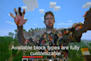 Kinect meets Minecraft, animates a giant statue in your honor (video)