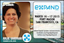 Live from Expand: A Conversation With Julie Uhrman (video)