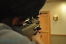 Microvision laser projection gun hands-on