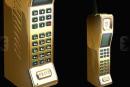 Stuart Hughes' gold Privé brick phone redefines 80s excess