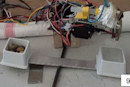 Robot uses glue gun to make tools, hopes to ace Survival Skills 101