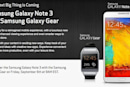 Verizon announces first US pre-order date for Galaxy Note 3 and Galaxy Gear: September 6th at 9AM ET