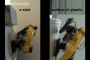 Climbing robot melts and cools plastic to get its footing